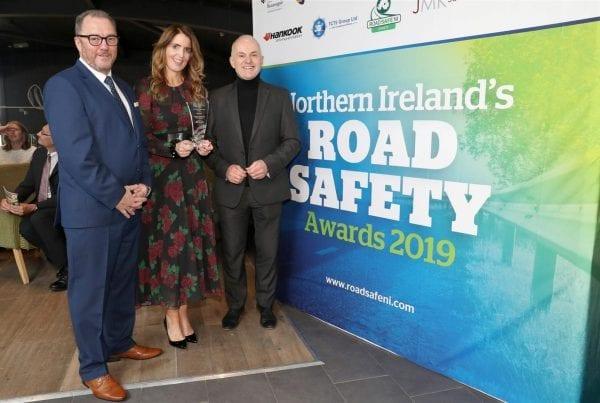 JMK sponsor Business Sector at NI Road Safety Awards