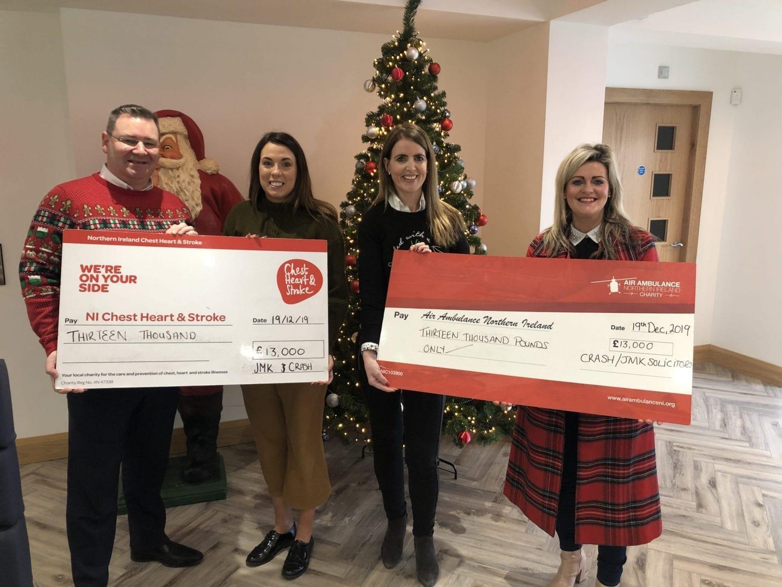 JMK Solicitors Charity Presentation 2019
