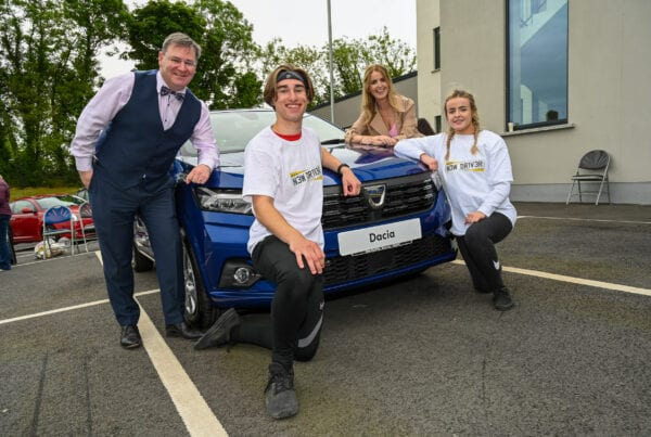 New Driver NI Touch The Car sponsored by JMK Solicitors